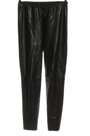 Mac Faux Leather Trousers black casual look