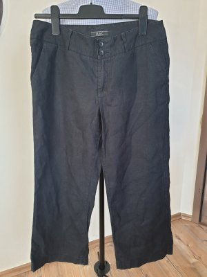 Mac Linen Pants black