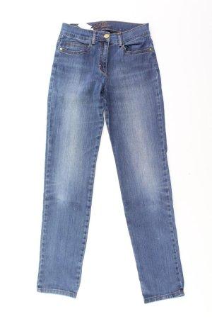 MAC Mom Jeans Größe 34 blau aus Baumwolle