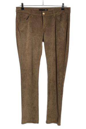 Mac Pantalone a sigaretta marrone stile professionale