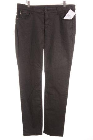 Mac Röhrenhose schwarz klassischer Stil