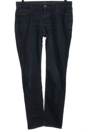 Mac Jeans a sigaretta blu stile casual