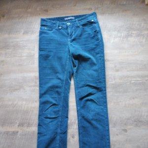 Mac Samtcord Hose, Coole Farbe, Größe 36/38
