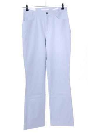 Mac Pantalone a zampa d'elefante blu stile casual
