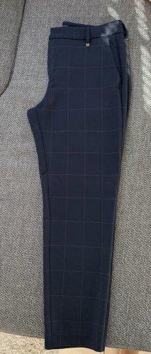 Mac Pantalone peg-top blu scuro Poliestere