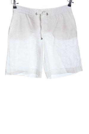 Mac Shorts blanco look casual