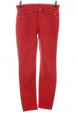 Mac Skinny Jeans rot Casual-Look