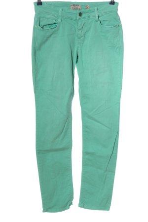 Mac Skinny Jeans türkis Casual-Look