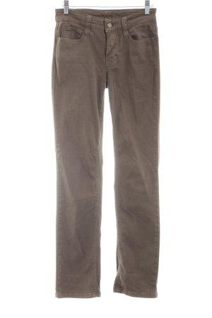 Mac Skinny Jeans bronzefarben Casual-Look
