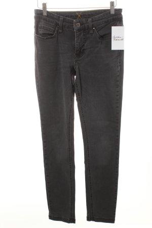 Mac Skinny Jeans dunkelgrau Casual-Look