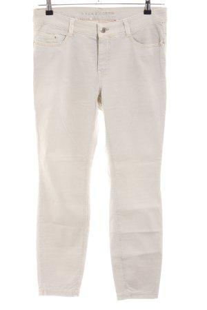Mac Skinny Jeans wollweiß Casual-Look
