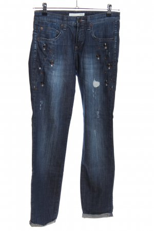 Mac Slim Jeans blau Casual-Look