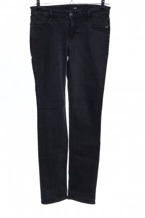 Mac Slim Jeans schwarz Casual-Look