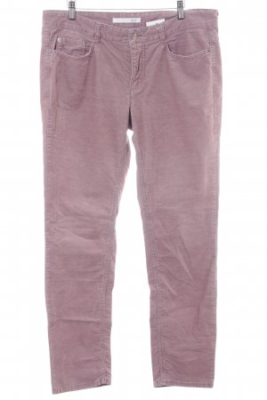 Mac Slim Jeans blasslila Used-Optik