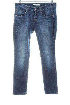 Mac Slim Jeans blue casual look