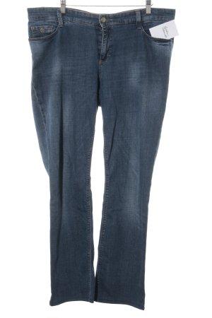 Mac Slim Jeans stahlblau Casual-Look