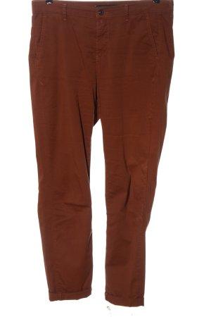 Mac Pantalone jersey marrone elegante