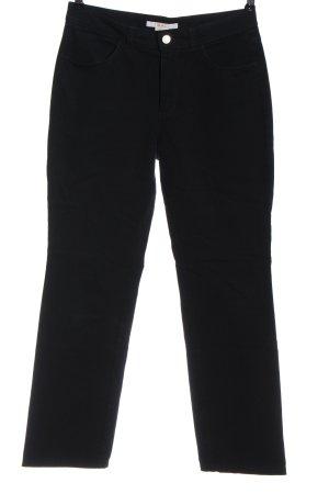 Mac Pantalone jersey nero stile casual