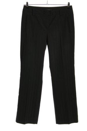 Mac Jersey Pants black business style