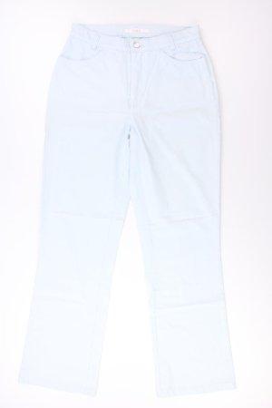 MAC Stoffhose Größe 38/L32 türkis aus Baumwolle
