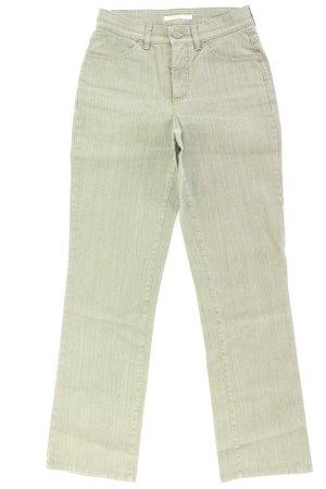 MAC Straight Jeans Größe 36 grün aus Baumwolle
