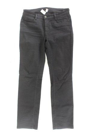 Mac Jeansy z prostymi nogawkami czarny Bawełna