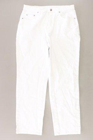 MAC Straight Jeans Größe 42 weiß