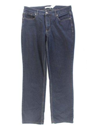 Mac Straight Leg Jeans blue-neon blue-dark blue-azure cotton