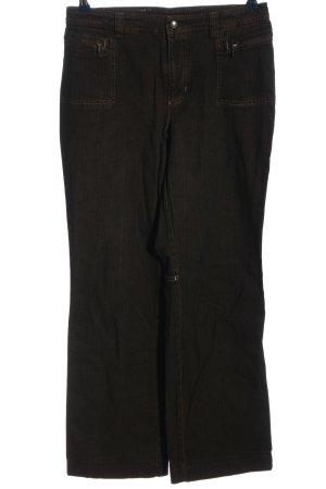 Mac Jeansy z prostymi nogawkami brązowy W stylu casual