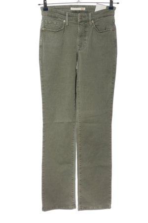 Mac Jeansy z prostymi nogawkami khaki W stylu casual