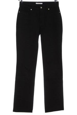 Mac Jeans a gamba dritta nero stile casual