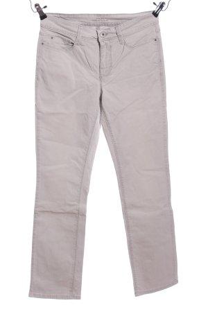 Mac Jeansy z prostymi nogawkami jasnoszary W stylu casual