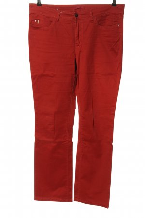 Mac Straight Leg Jeans red casual look