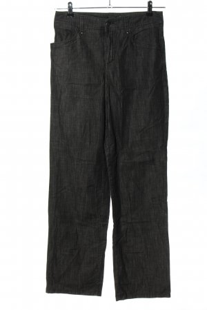Mac Straight-Leg Jeans hellgrau meliert Casual-Look