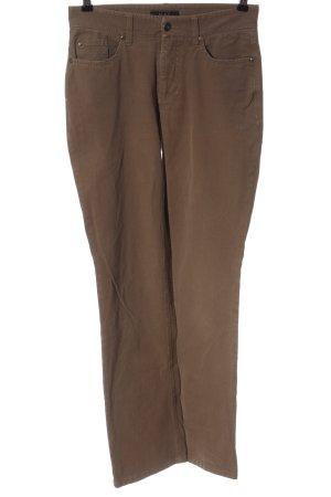 """Mac Jeansy z prostymi nogawkami """"W-fw4ffp"""" brązowy"""