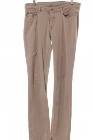 Mac Straight-Leg Jeans beige Casual-Look