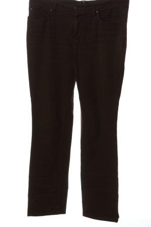 Mac Jeansy z prostymi nogawkami brązowy-ciemnobrązowy