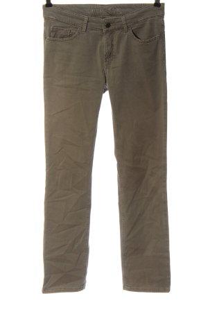 Mac Jeansy z prostymi nogawkami brąz W stylu casual