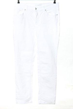 "Mac Straight Leg Jeans ""W-ewfzhs"" white"