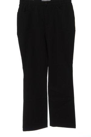 Mac Jeansy z prostymi nogawkami czarny W stylu casual