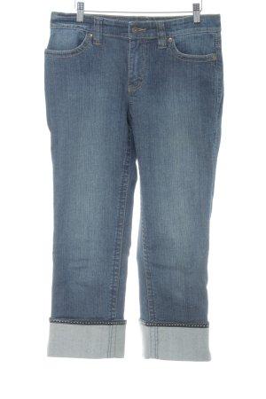 Mac Jeansy z prostymi nogawkami szary niebieski W stylu casual