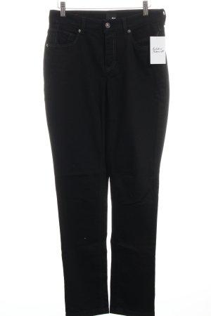 "Mac Straight-Leg Jeans ""Melanie Pipe Dynamic"" schwarz"