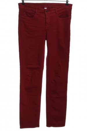 Mac Straight-Leg Jeans rot Casual-Look