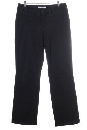Mac Jeansy z prostymi nogawkami czarny Prosty styl