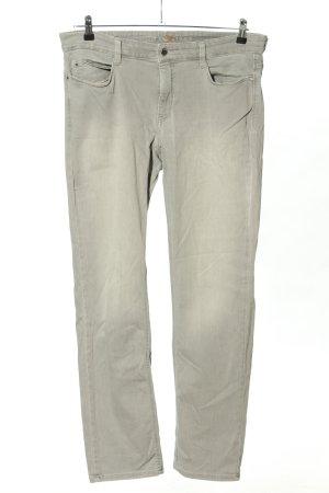 Mac Vaquero elásticos gris claro look casual