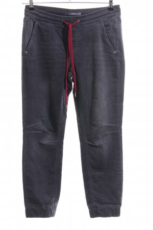 Mac Stretch Jeans hellgrau-rot Casual-Look