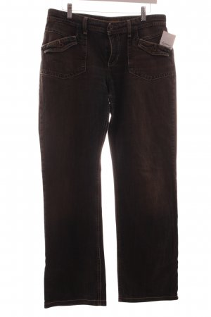 Mac Stretch Jeans dunkelgrau-braun Casual-Look