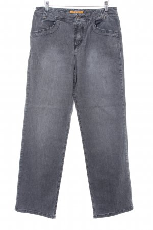 Mac Stretch Jeans grau Jeans-Optik