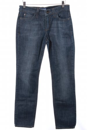 Mac Stretch Jeans graublau Jeans-Optik