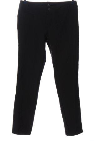 Mac Spodnie ze stretchu czarny W stylu casual
